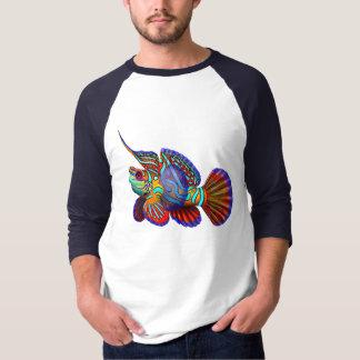 MandarinGobyDragonet fisk Jersey T Shirts