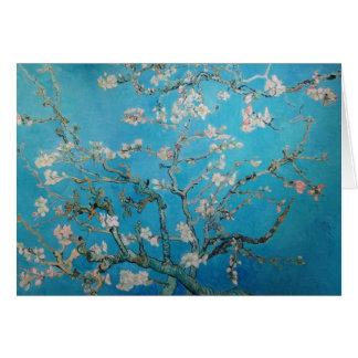 Mandelblommar, Van Gogh 1890 Hälsningskort