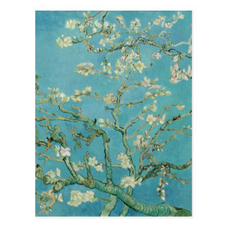 Mandelen blomstrar vid Vincent Van Gogh Vykort