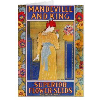 Mandeville och kungen kärnar ur katalogen hälsningskort