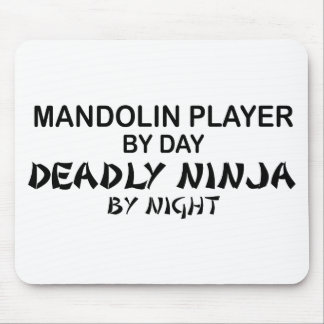 Mandolin dödliga Ninja vid natt Musmatta