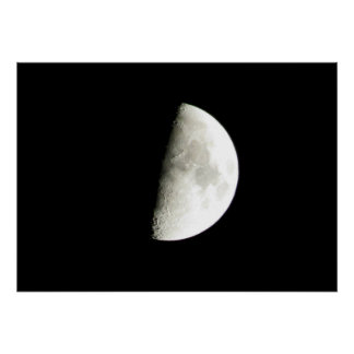 Måne Affisch