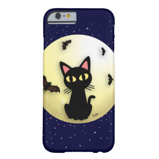 Måne med katten barely there iPhone 6 skal