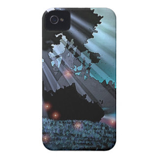 Måne Nimbus-Kompis fodral Case-Mate iPhone 4 Skydd