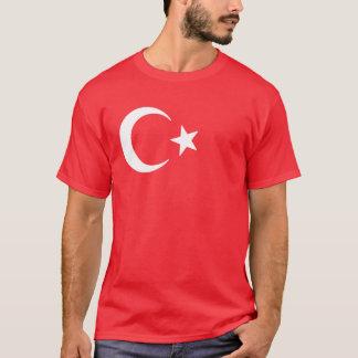 Måne och stjärna för turkisk flagga växande tröja