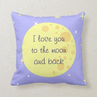 Måne- och stjärnaanpassadet kudder kudde