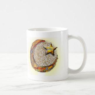 Måne-Stjärna - islam Kaffemugg