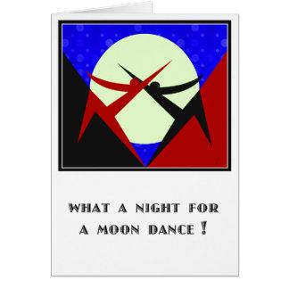 Månedans - personlig hälsningskort