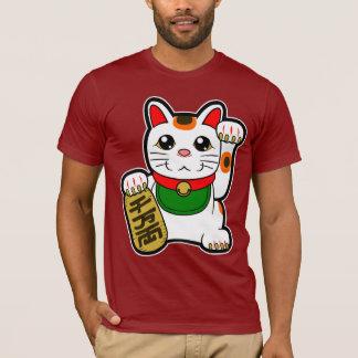 Maneki Neko: Japansk lycklig katt T-shirt