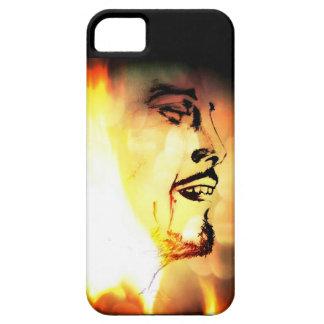 Manen avfyrar på iPhone 5 Case-Mate fodraler
