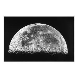 Månen Fototryck
