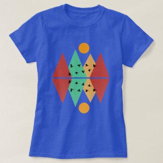 Månen över fyra nå en höjdpunkt #3 t-shirts