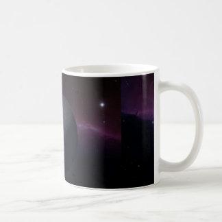 Månen på kaffemuggen vit mugg