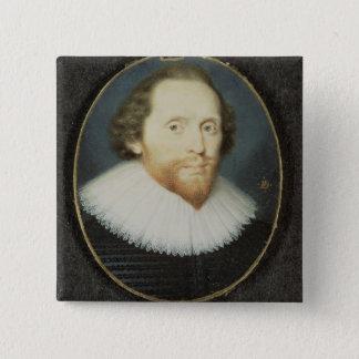 Manen sade att vara William Herbert, den 3rd earle Standard Kanpp Fyrkantig 5.1 Cm