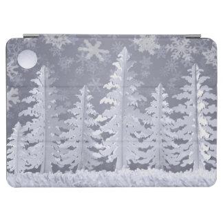 Månen tände vintern landskap iPad air skydd