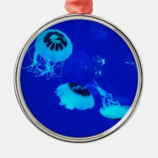 Manet i Mexico (blått) Julgransprydnad Metall
