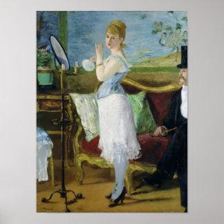 Manet | Nana, 1877 Poster