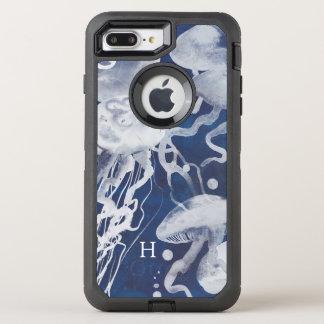 Manet på marinbakgrund OtterBox defender iPhone 7 plus skal