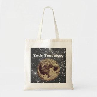 Måneutrymmeastronomi Tygkasse