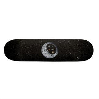 Månevårdare, ögon av universum mini skateboard bräda 18,7 cm