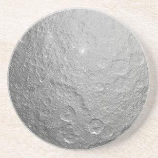 Måneytastruktur Glasunderlägg