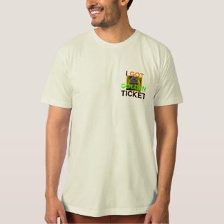 Mång- anstrykning för guld- biljett tee shirt