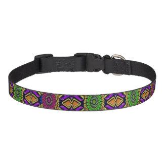 Mång--Färg dekorativ medelhundhalsband Halsband Husdjur