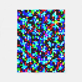 Mång--Färg mönster Fleecefilt