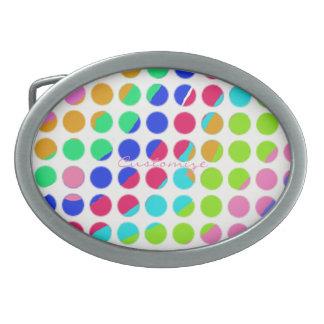 mång--färgad polka dots
