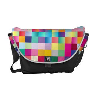 Mång- färgaddesign kurir väskor