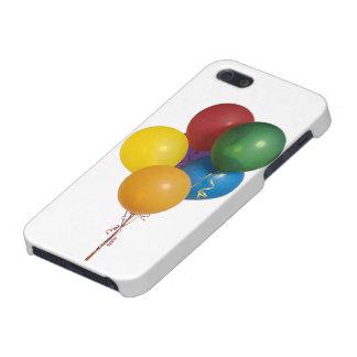 Mång- färgade partyballonger iPhone 5 fodral