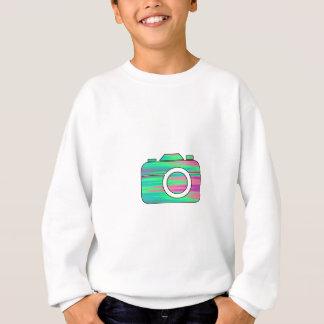 Mång- färgkamera tee shirt