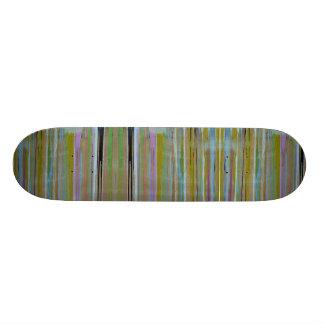 Mång- färgskateboard. mini skateboard bräda 18,5 cm
