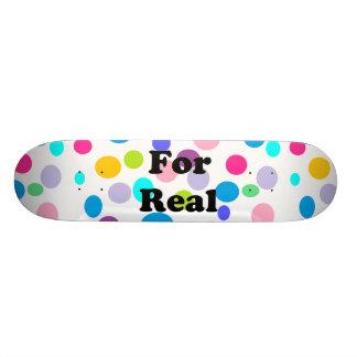 Mång- fläckar skateboard bräda 21,5 cm