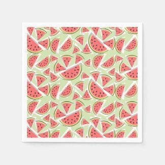 Mång- grönt servettpapper för vattenmelon servett