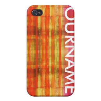Mång- kulöra känt fodral för konstmodeiPhone 4 iPhone 4 Cover
