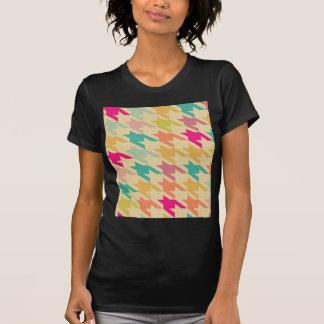 Mång- pastellfärgad chic för mönster för t-shirts