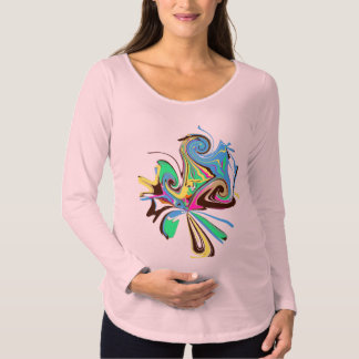 Mång- rosor för moderskaplångärmadtanktop tröja