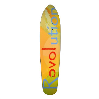 Mång- SkateboardReLOVEution design 1 Mini Skateboard Bräda 18,5 Cm