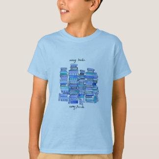 Många bokar, barnutslagsplats för många vänner tröjor