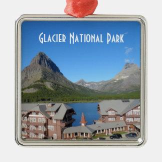 Många nationalpark för glaciärHotellglaciär Julgransprydnad Metall