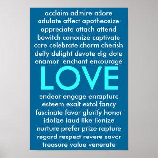 Många väg att älska poster