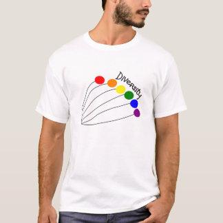 mångfaldballonger t-shirts