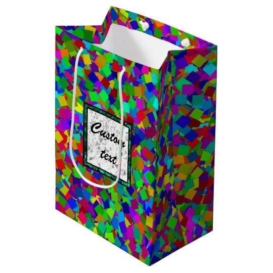 Mångfärgade konfettiar -
