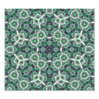 Mångfärgat abstrakt mönster fotontryck