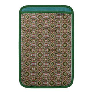 Mångfärgat cirklar. Elegantt geometriskt mönster Sleeve För MacBook Air