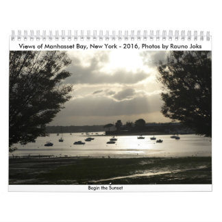 Manhasset fjärd, NY- 2016, foto av Rauno Joks Kalender
