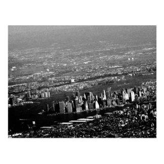Manhattan från över vykort