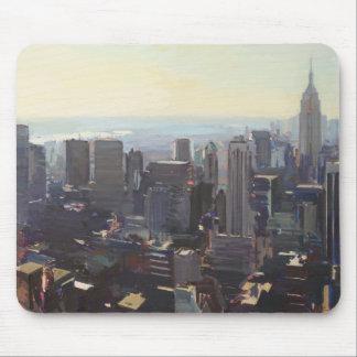 Manhattan från Rockefelleren som bygger 2012 Musmatta