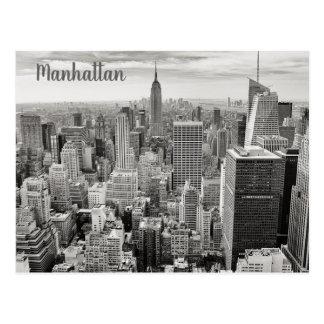 Manhattan New York vykort